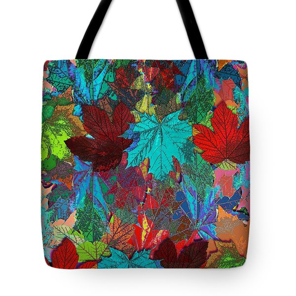 Tree Leaves Tote Bag by Klara Acel