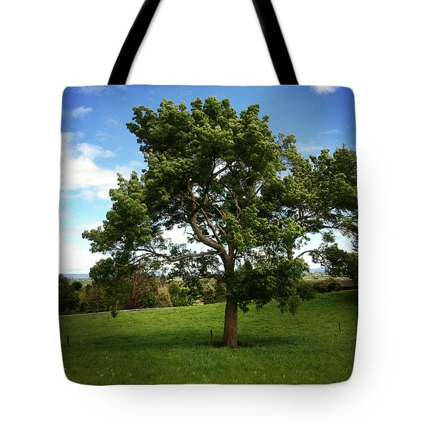 Tree Tote Bag by Les Cunliffe