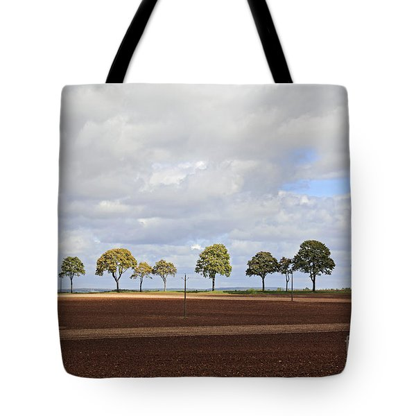 Tree Line France Tote Bag