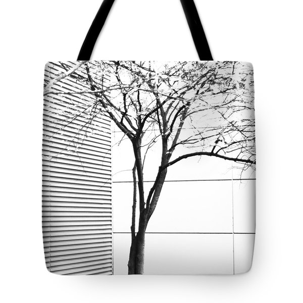 Tree Lines Tote Bag by Darryl Dalton