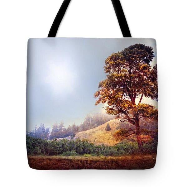 Tree Of Dreams Tote Bag by Debra and Dave Vanderlaan