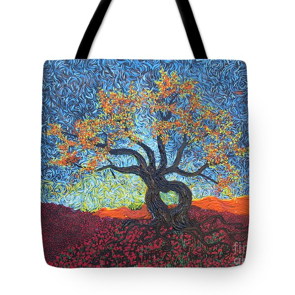 Tree Of Heart Tote Bag
