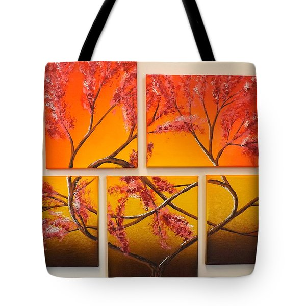 Tree Of Infinite Love Tote Bag