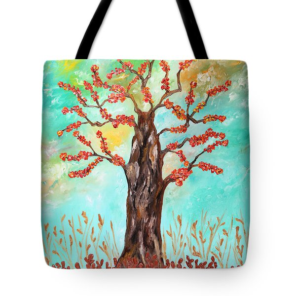 Tree Of Joy Tote Bag