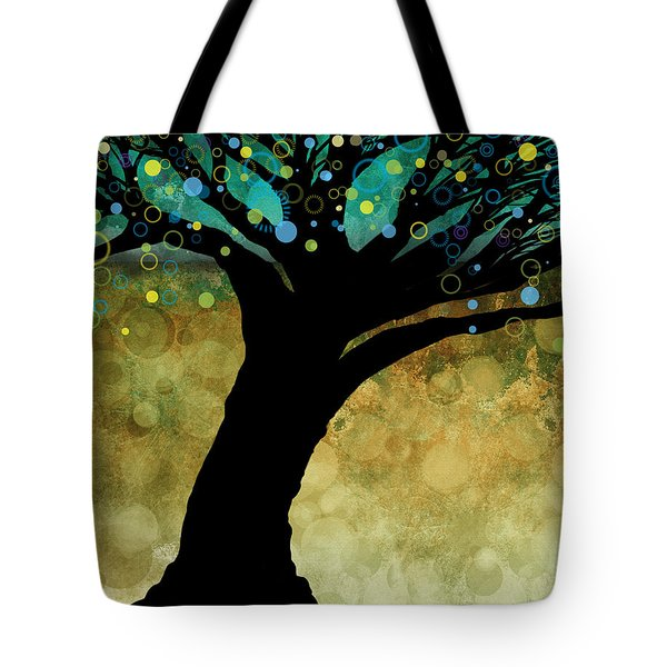 Tree Of Life Two  Tote Bag by Ann Powell