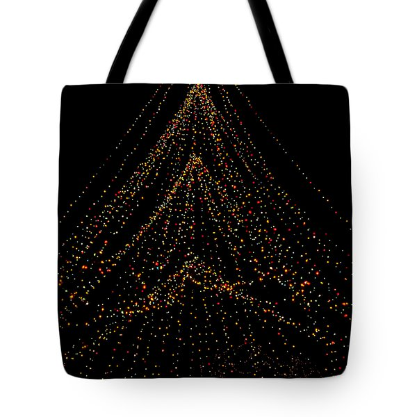 Tree Of Lights Tote Bag