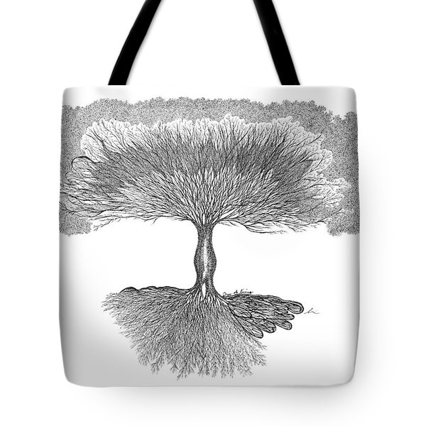 Tree Of Living Tote Bag