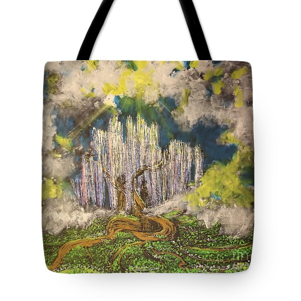 Tree Of Souls Tote Bag