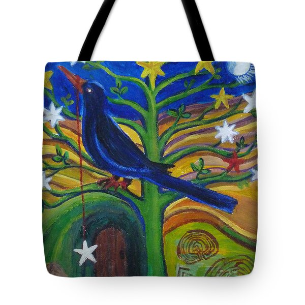 Tree Of Stars Tote Bag