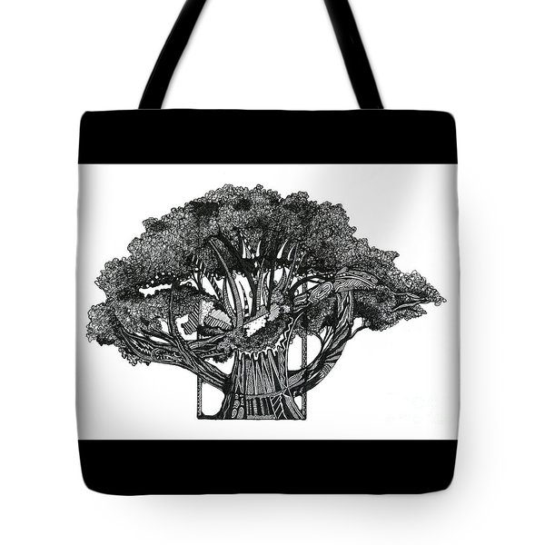 Tree Of Summer Tote Bag