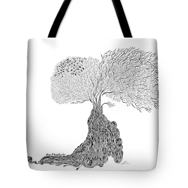 Tree Of Uncertainty Tote Bag