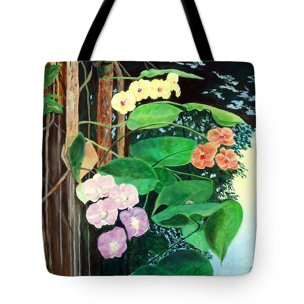 Tree Orchids Tote Bag