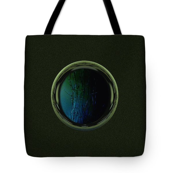 Tree Porthole  Tote Bag by Gillian Owen