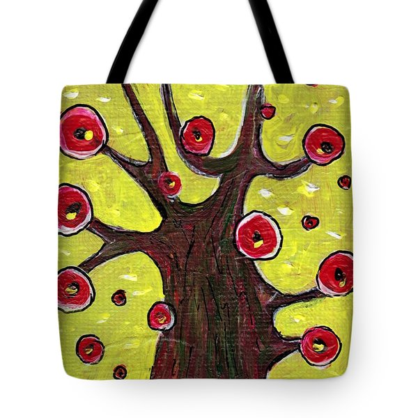 Tree Sentry Tote Bag by Anastasiya Malakhova