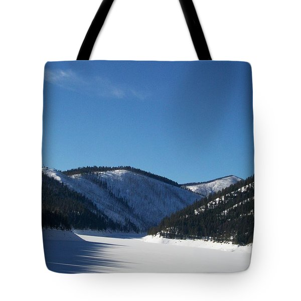 Tree Shadows Tote Bag by Jewel Hengen