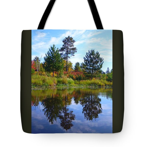 Tote Bag featuring the photograph Tree Sisters by Gigi Dequanne