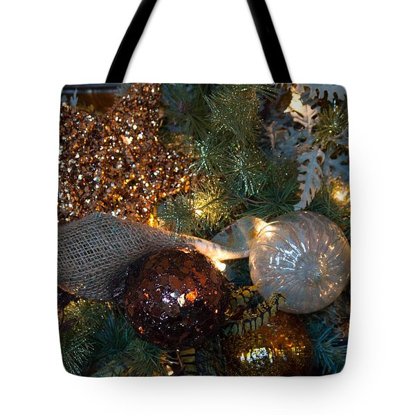 Tree Trimmings Tote Bag by Patricia Babbitt