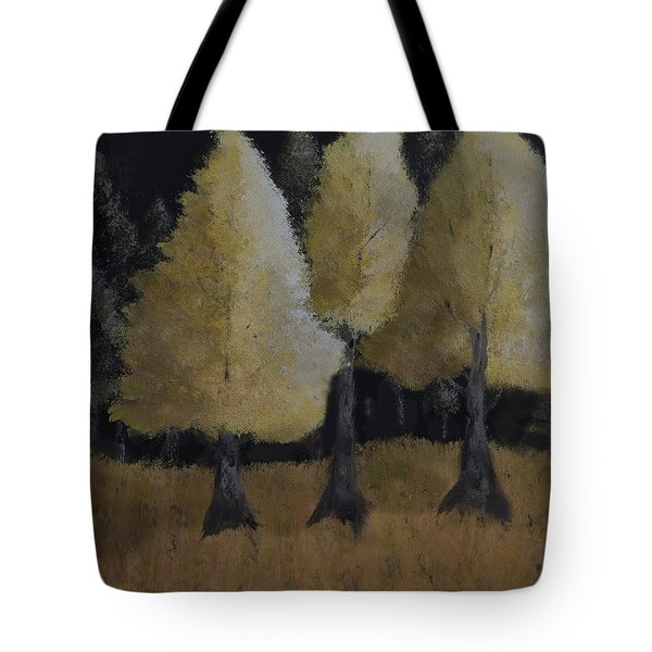 Tree Trio Tote Bag