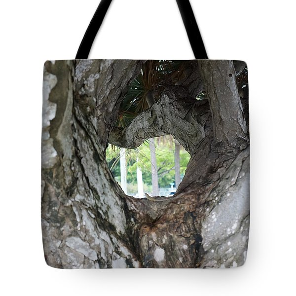 Tote Bag featuring the photograph Tree View by Rafael Salazar