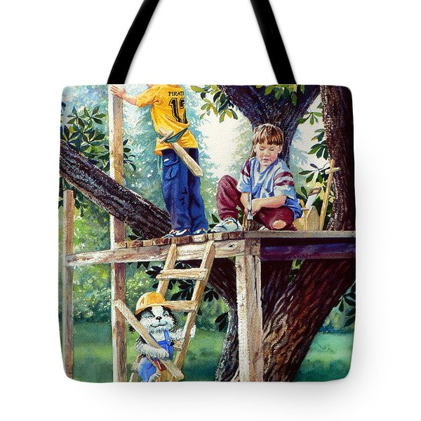 Treehouse Magic Tote Bag by Hanne Lore Koehler