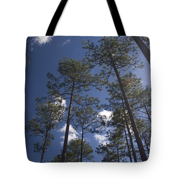 Tote Bag featuring the photograph Trees And Nature by Charles Beeler