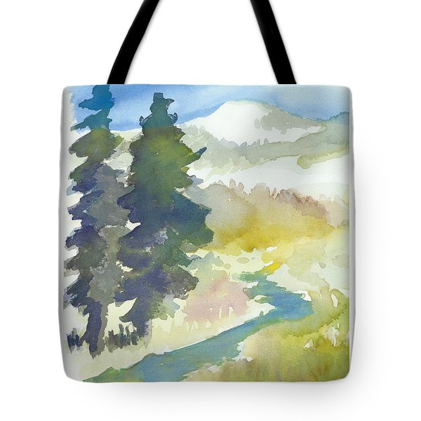 Trees Tote Bag by C Sitton