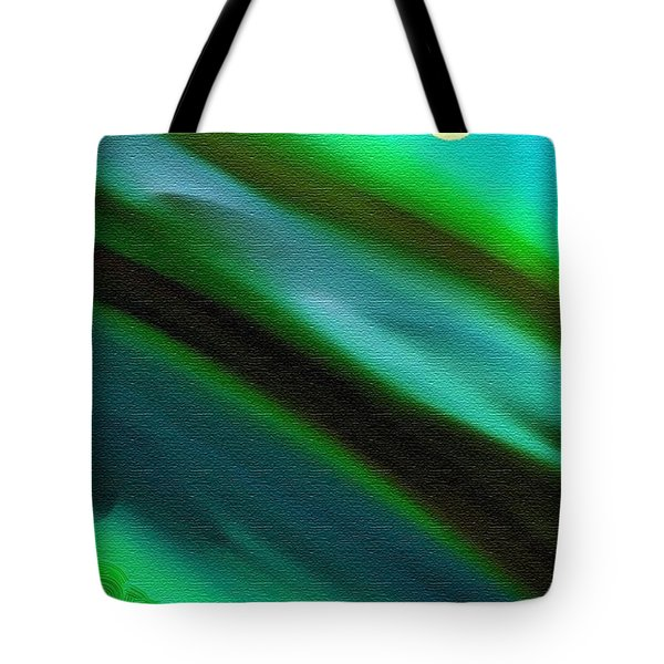 Trees Near The Lake Tote Bag by Lenore Senior