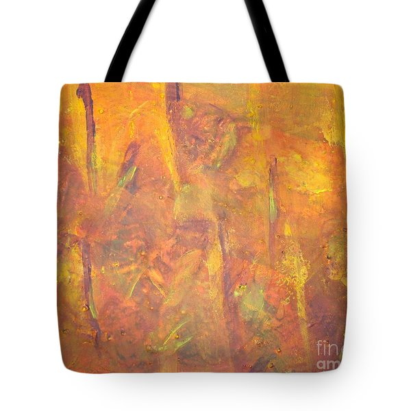 Trees Of The Field Tote Bag by Olivia  M Dickerson
