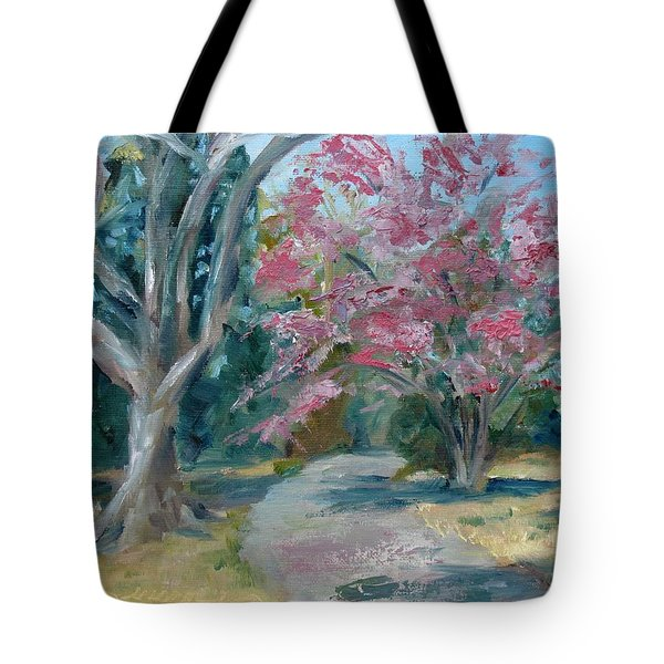 Trees Of Windermere Tote Bag by Susan E Jones