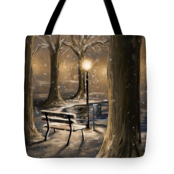 Trees Tote Bag by Veronica Minozzi