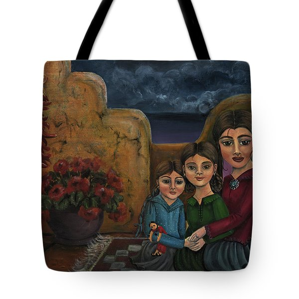 Tres Mujeres Three Women Tote Bag