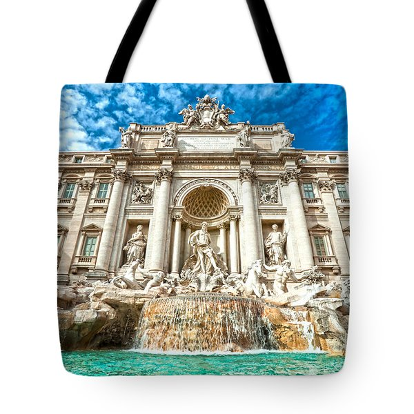 Trevi Fountain - Rome Tote Bag