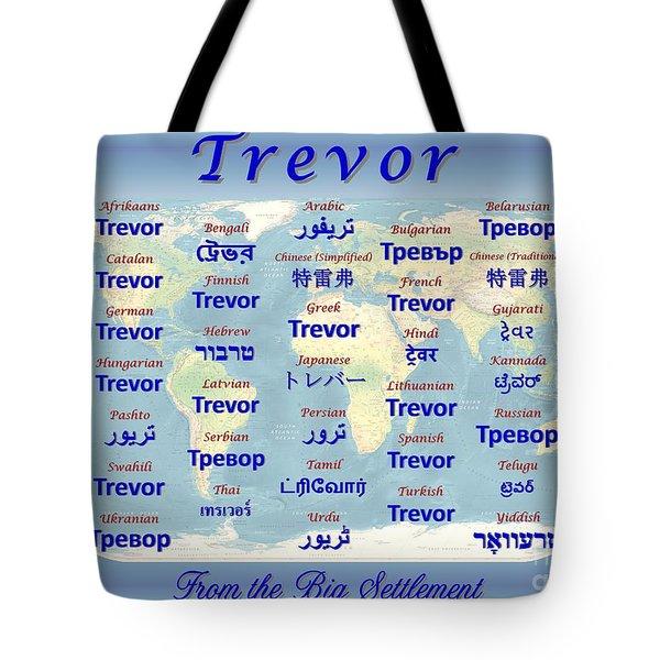 Trevor Tote Bag by J McCombie