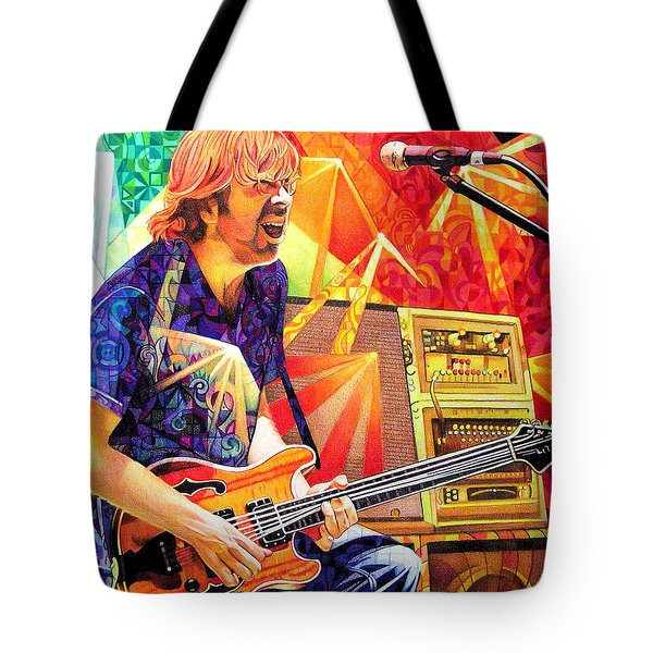 Trey Anastasio Squared Tote Bag