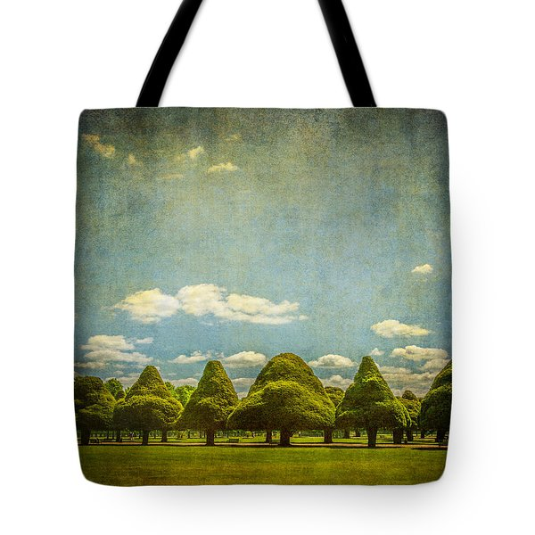 Triangular Trees 003 Tote Bag