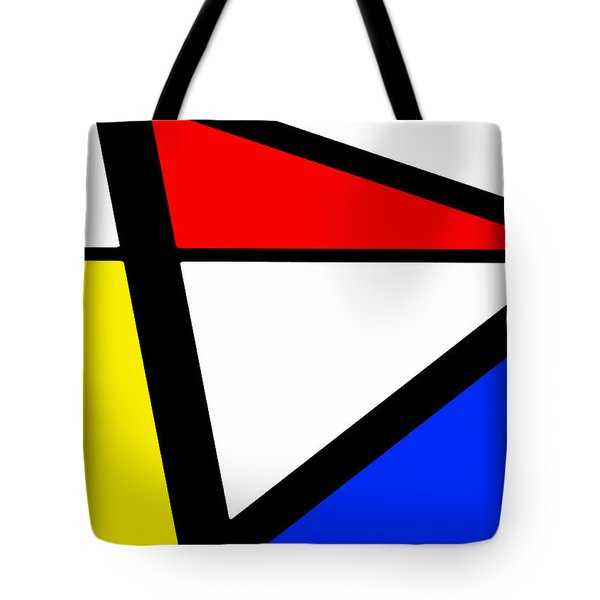 Triangularism I Tote Bag by Richard Reeve