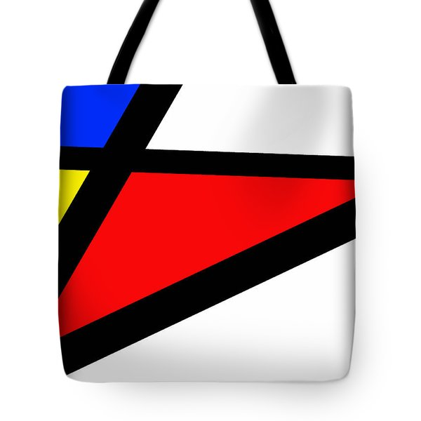 Triangularism II Tote Bag by Richard Reeve