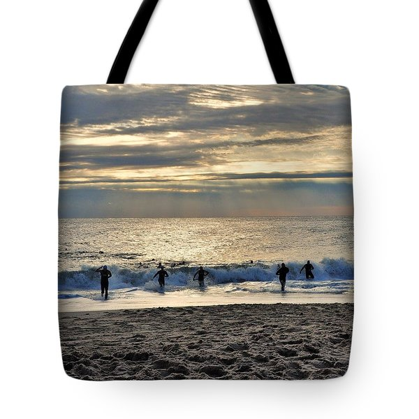 Triathalon Tote Bag