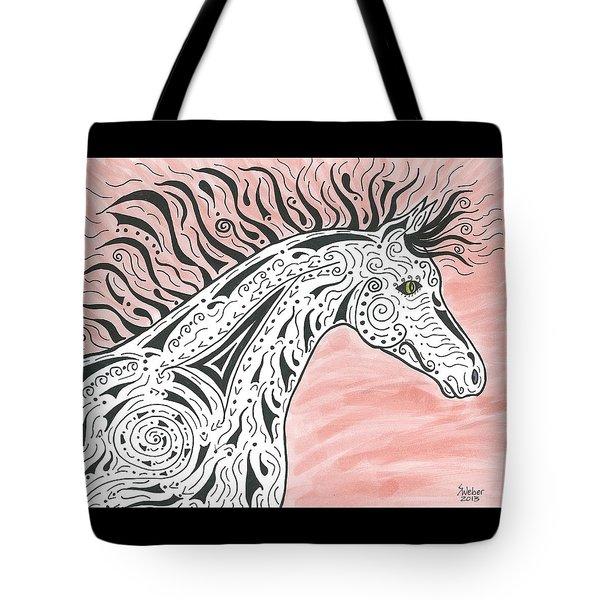 Tribal Spirit Wind Tote Bag by Susie WEBER