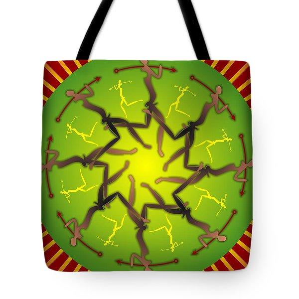 Tribal Warriors Tote Bag