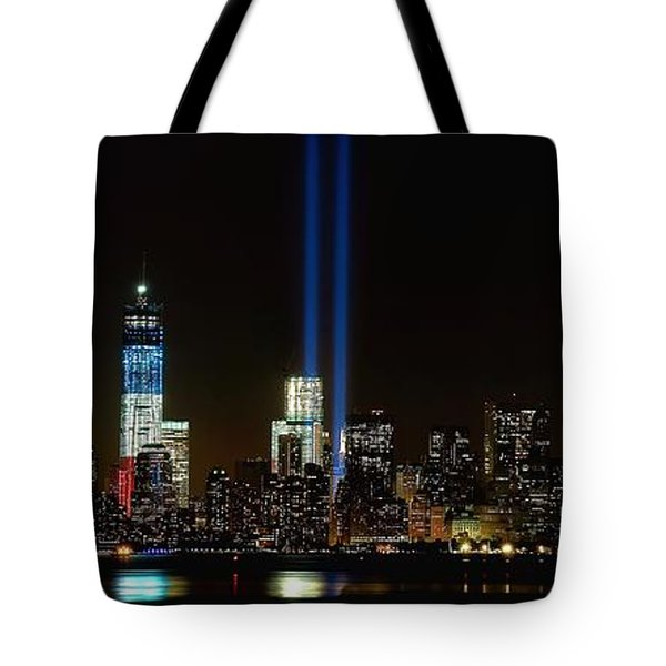 Tribute In Light From Bayonne Tote Bag