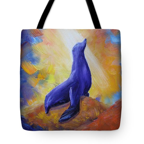 Tribute To Bismarck The Ambassador Tote Bag by Margaret Bobb