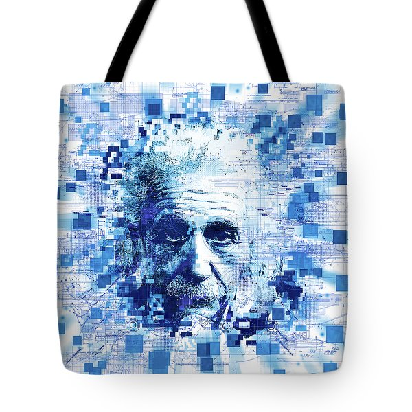 Tribute To Genius Tote Bag