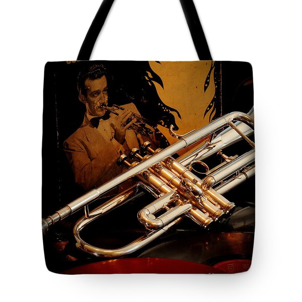 Tribute To Harry Tote Bag by Robert Frederick