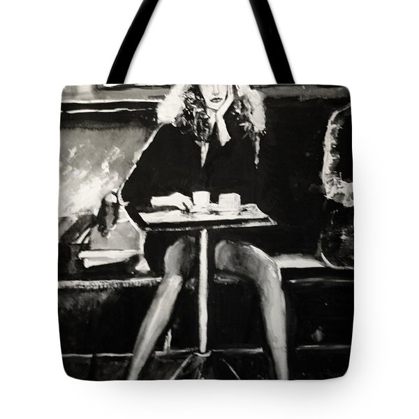 Tribute To Helmut Newton Tote Bag