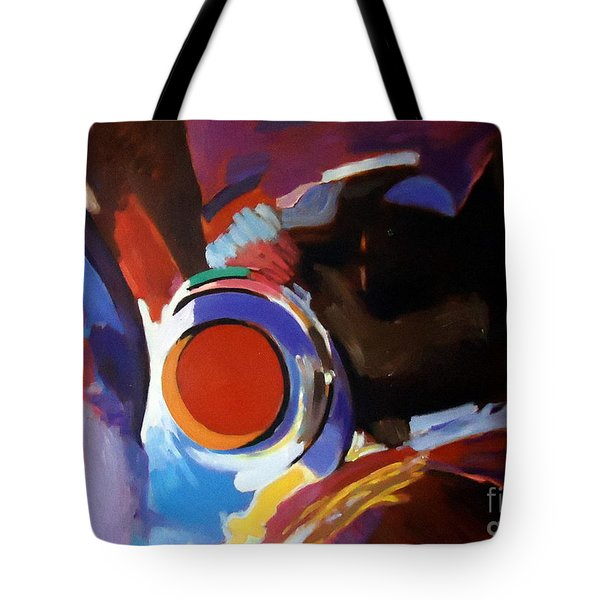 Tribute To Raul Russo Tote Bag by Helena Wierzbicki