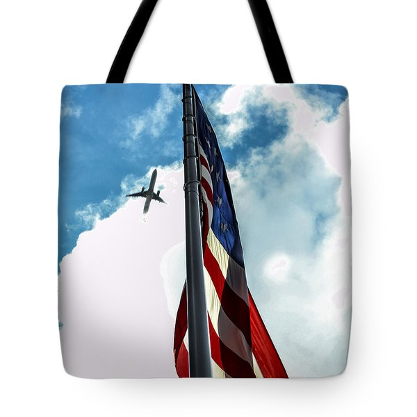 Tribute To The Day America Stood Still Tote Bag