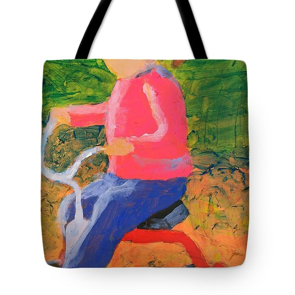Tricycle Tote Bag by Donald J Ryker III