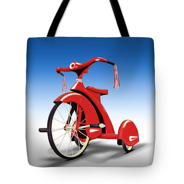 Trike Tote Bag by Mike McGlothlen