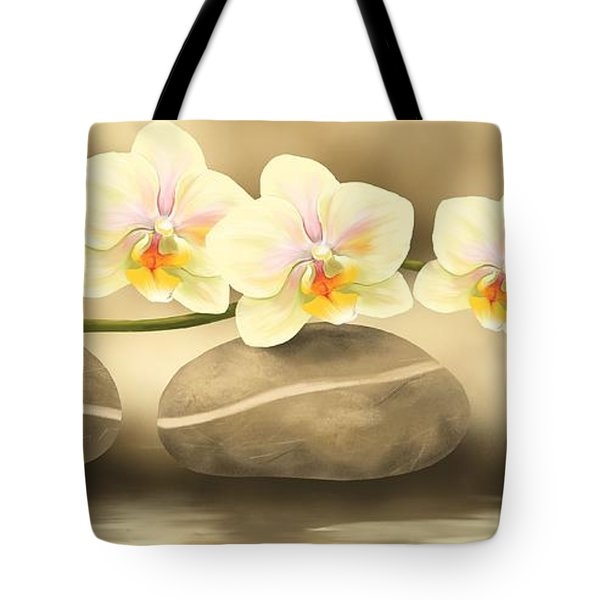 Trilogy Tote Bag by Veronica Minozzi
